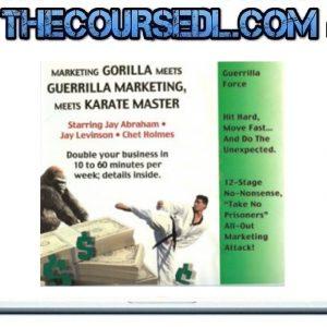 Chet Holmes & Jay Levinson – Guerrilla Marketing Meets Karate Master
