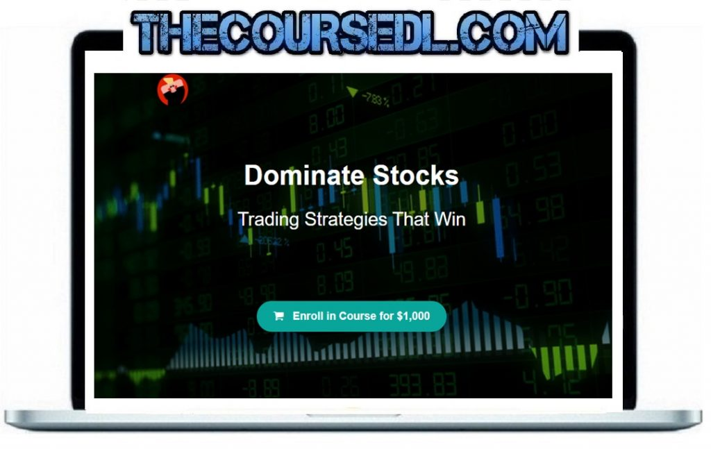 J. Bravo - Dominate Stocks Original Price:$1000 You Just Pay:$179.95 (One Time 88% OFF) Author:J. Bravo Sale Page:_https://billstenzel.teachable.com/p/dominate-stocks Product Delivery : You will receive a receipt with download link through email. Contact me for the proof and payment detail: email_Ebusinesstores@gmail.com Or Skype_Macbus87