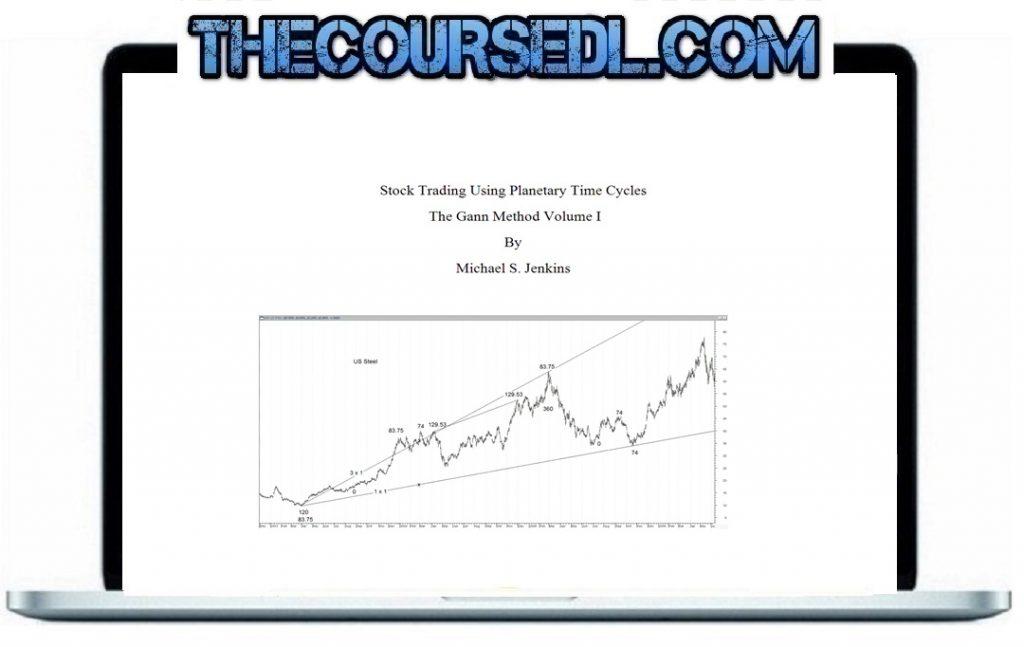 Stock Trading Using Planetary Cycles – The Gann Method Volume 1