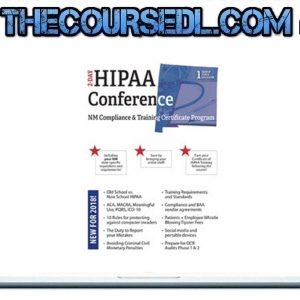 Two-Day HIPAA Conference Compliance and Training Certificate Program